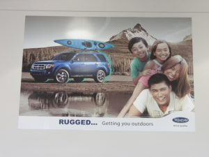 Family lifestyle showroom banner